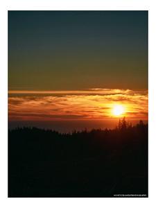 A Sombrio Sunset