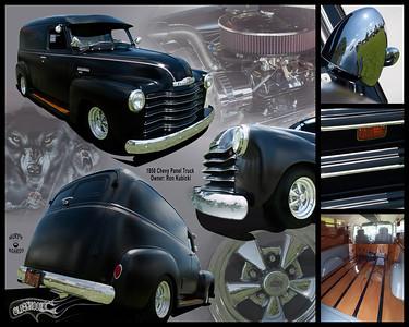 Ron Kubicki's 50 Chevy Panel Truck