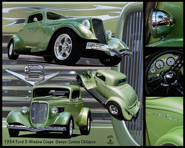 Connie Childers 34 Ford Coupe 2108