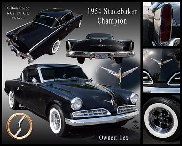 Lex's 1954 Studebaker Coupe