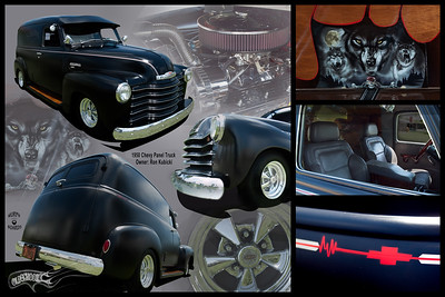 Ron Kubicki's 50 Chevy Panel Truck