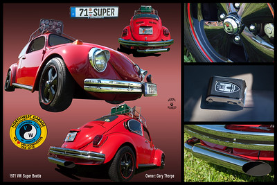 Gary Thorpe's 71 VW Super Beetle