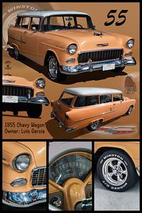 Luis Garcia's 55 Chevy Wagon