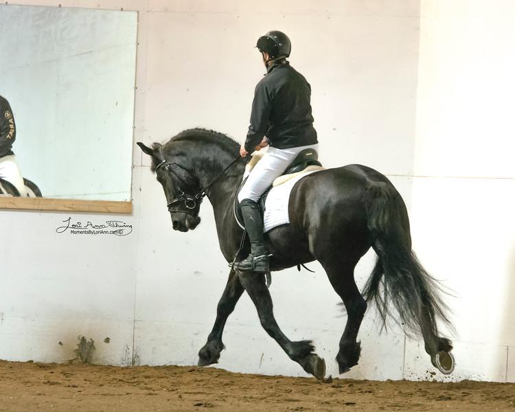 Meral KCF (Tonjes 459 Sport) with Alfons van Proosdij