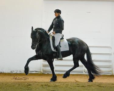 Olivia (Tonjes 459 x Erik 351) with Alfons van Proosdij