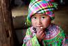 Flower Hmong girl