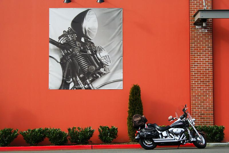 Harley Davidson, Smoky Pt, WA