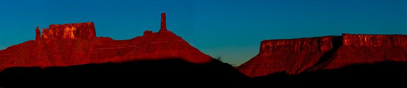 Priest & Nuns, Rectory, Castleton Tower, Adobe Mesa