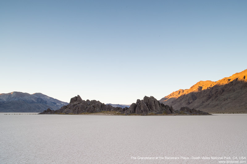 The Grandstand at the Racetrack Playa - Death Valley National Park, CA, USA