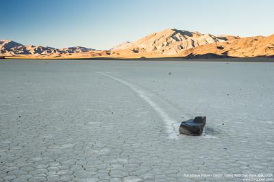 Racetrack Playa - Death Valley National Park, CA, USA