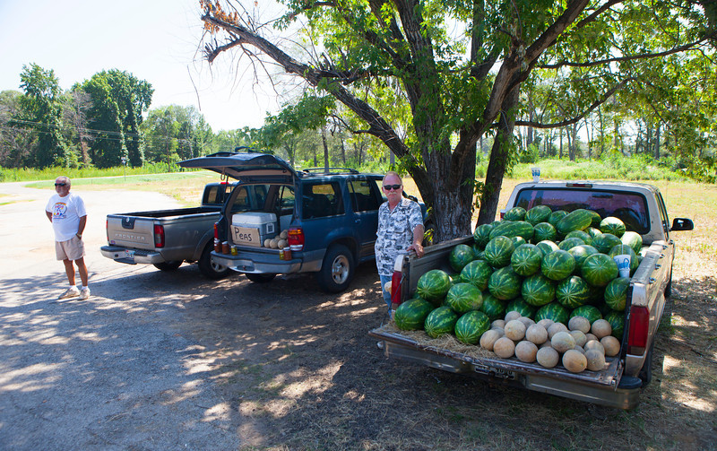 Roadside Stand, Teaselville TX 2012-07-21