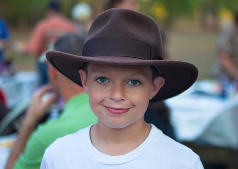 Young Lad with Hat, Tyler TX 2011-10-22