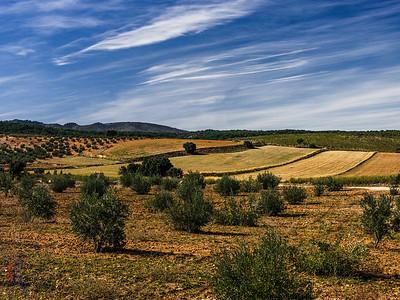 Goldene Felder von Albuñuelas