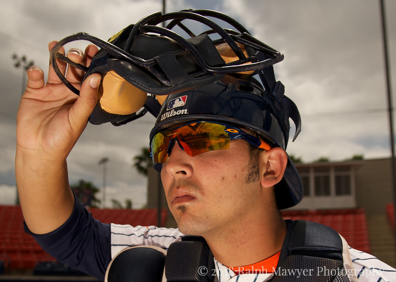 03/23/2011 -- Cal State Fullerton, Fullerton, USA:  Cody Webster. Photo by Ralph Mawyer, Jr./Sports Shooter Academy Lighting Luau