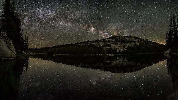 Milky Way at Polly Dome Lake, Yosemite