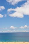 Beachgoers, Waimea Beach, Oahu, HI USA