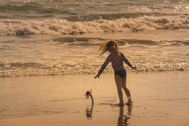 Barbie on the Beach