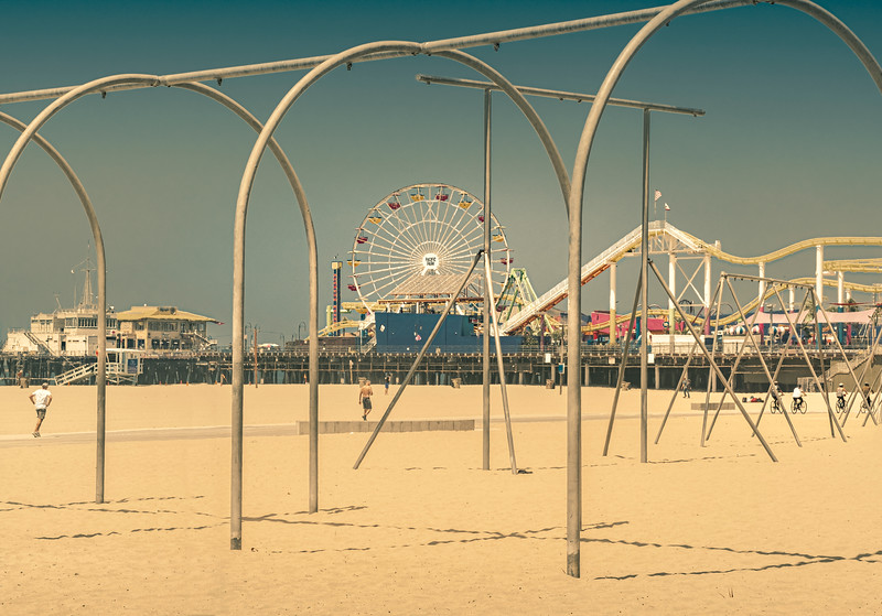 View of the Pier, Near Muscle Beach