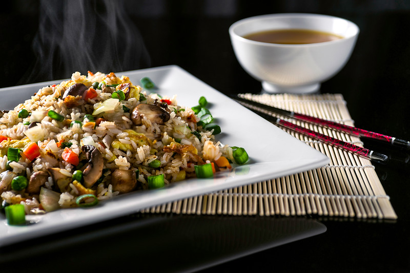 Stir Fried Rice Studio Photography