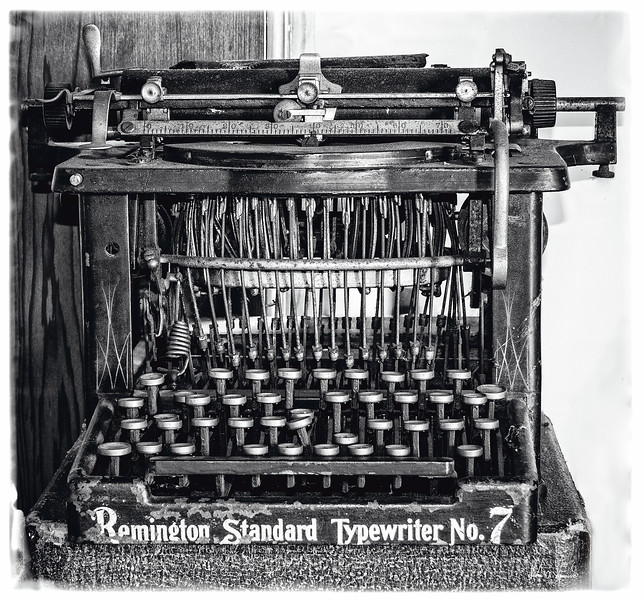 """EARLY WORD PROCESSOR"""