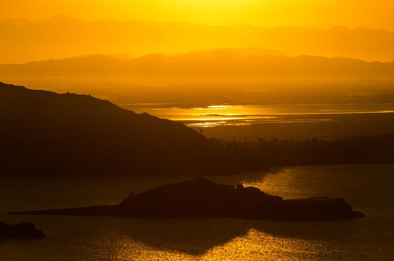Lake Titicaca Sunset