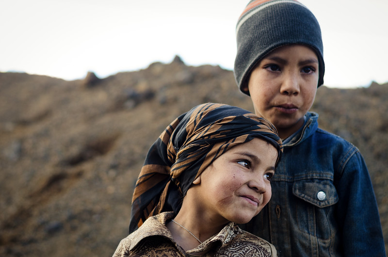 Nomadic Berber Children