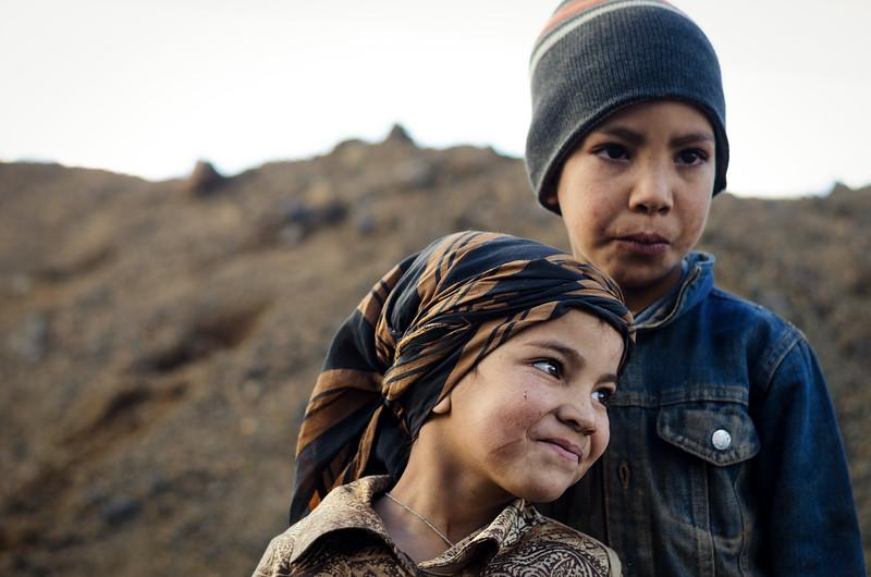 Nomadic Berber Children