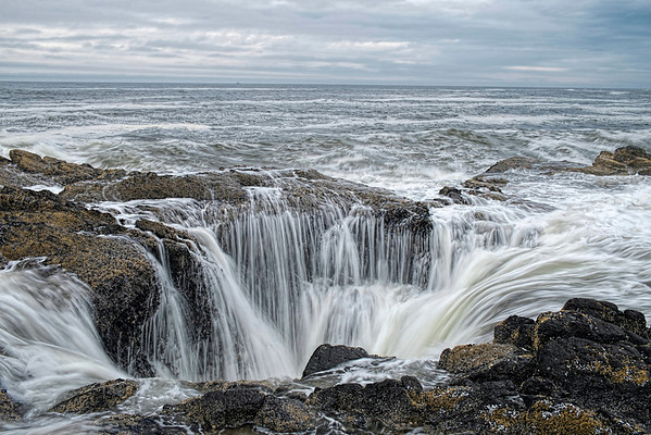 Thore's Well, Cape Perpetua, OR.