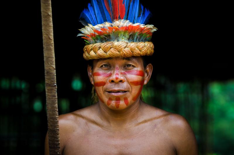 Yagua Tribesman