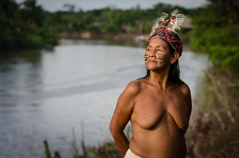 Bora Tribeswoman