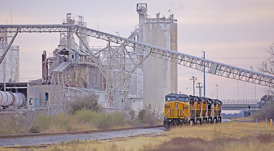 Locomotives in McNeil Texas