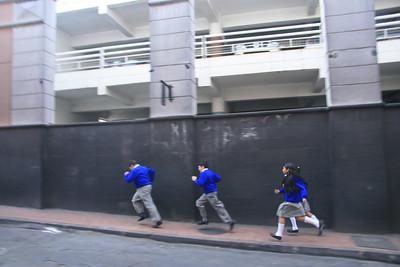 Quito schoolkids