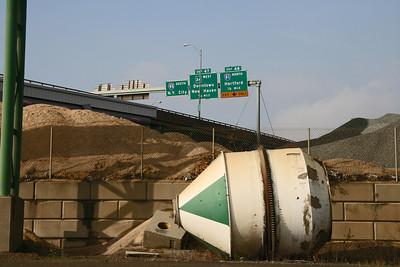 Below I-95