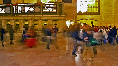 GRAND CENTRAL PAINTING