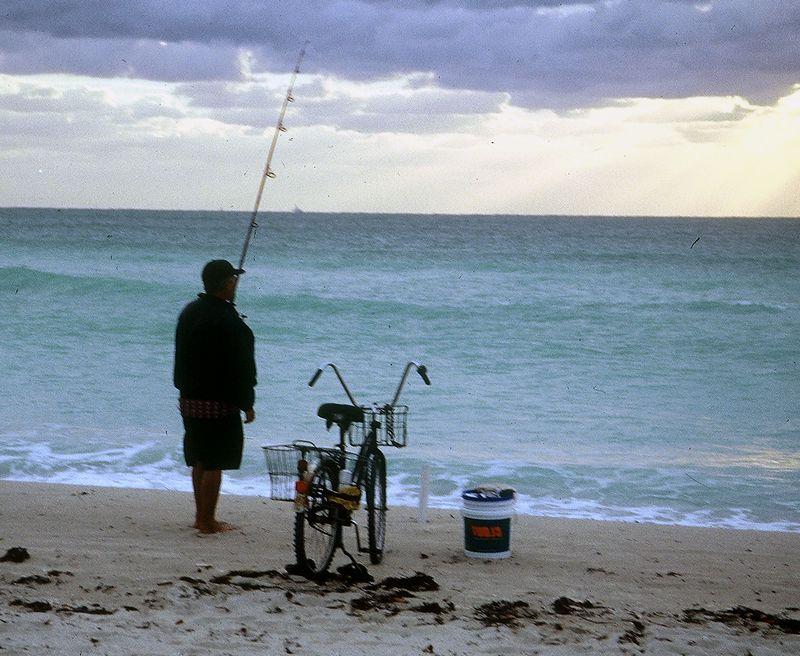 EARLY MORNING CUBAN FISHERMAN