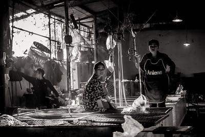 Northern Laos. Luang Namtha market