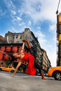 New York City Side Plank