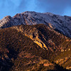 Snow-capped Huachuca Mountains, Cochise County, Arizona