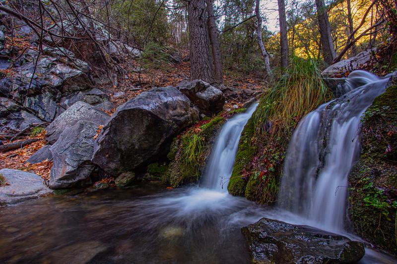 Ramsey Canyon waterfall, Huachuca Mountains, Cochise County, Arizona