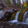 Ramsey Canyon waterfall, Huachuca Mountains, Cochise County, Arizona