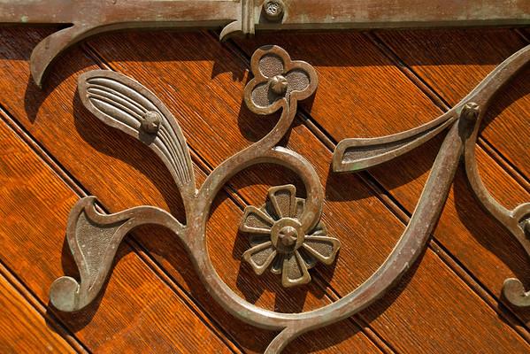 Door detail at Packer Chapel, Lehigh University