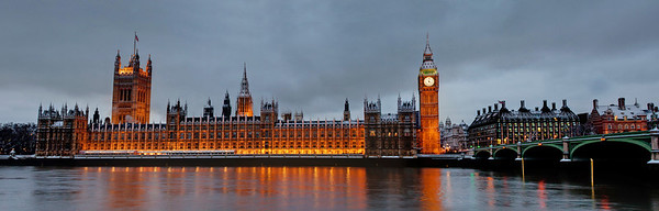 London Houses of Parliament Panorama