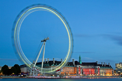 London Eye in the Blue Hour