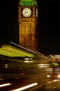 Big Ben And Buses