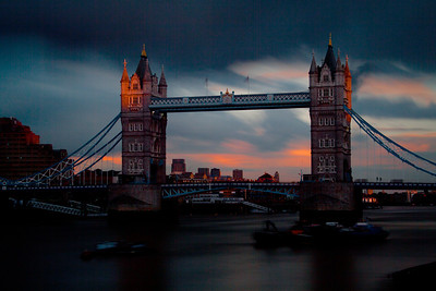 The Tower Bridge at Sunset