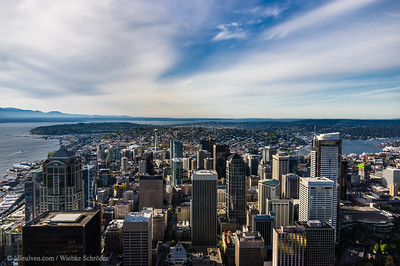 Seattle from the Sky Observatory