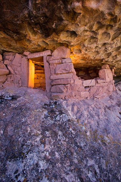 Honeycomb ceiling, Ancestral Puebloan structure, Utah