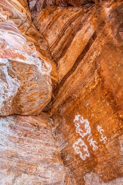 Cave Valley Style pictographs, Washington County, Utah