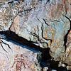Miniature Fremont anthropomorph pictograph, Utah