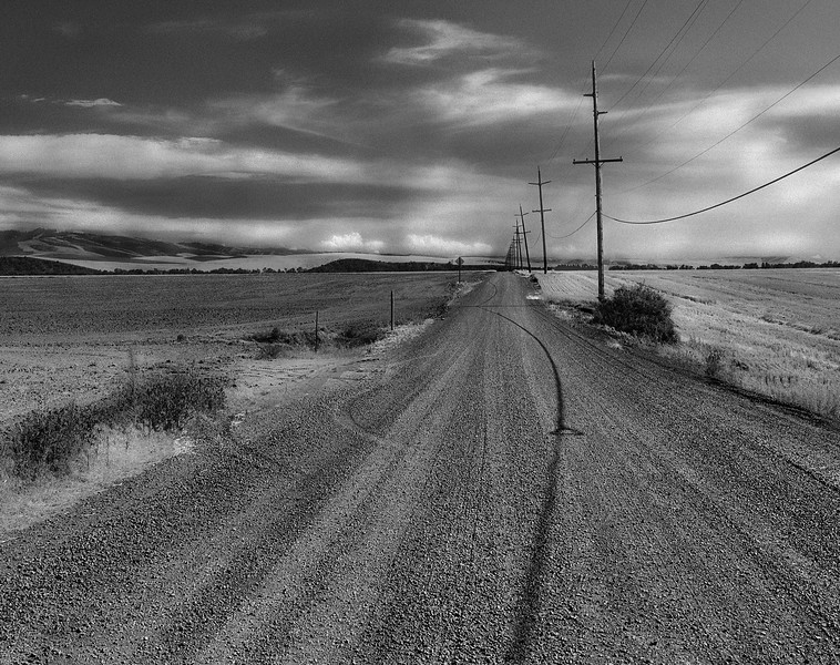 Heading south, near Walla Walla , Washington
